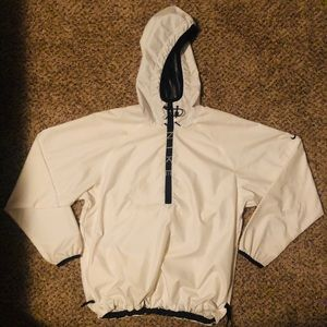 Nike Windbreaker half zip with hood